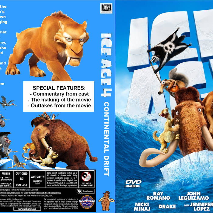 the Ice Age: Collision Course (English) 720p movies