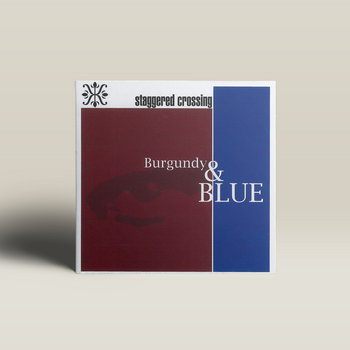 Burgundy & Blue by Staggered Crossing