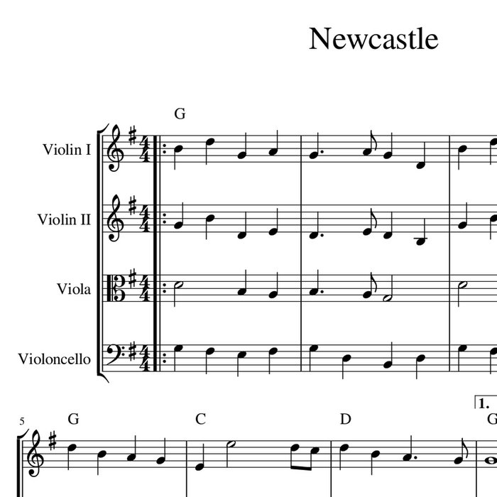 newcastle harmony arrangement sheet music celtic fiddle music georgia nettleton. Black Bedroom Furniture Sets. Home Design Ideas