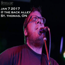 Jan 7 2017 @ The Back Alley - St. Thomas, ON cover art