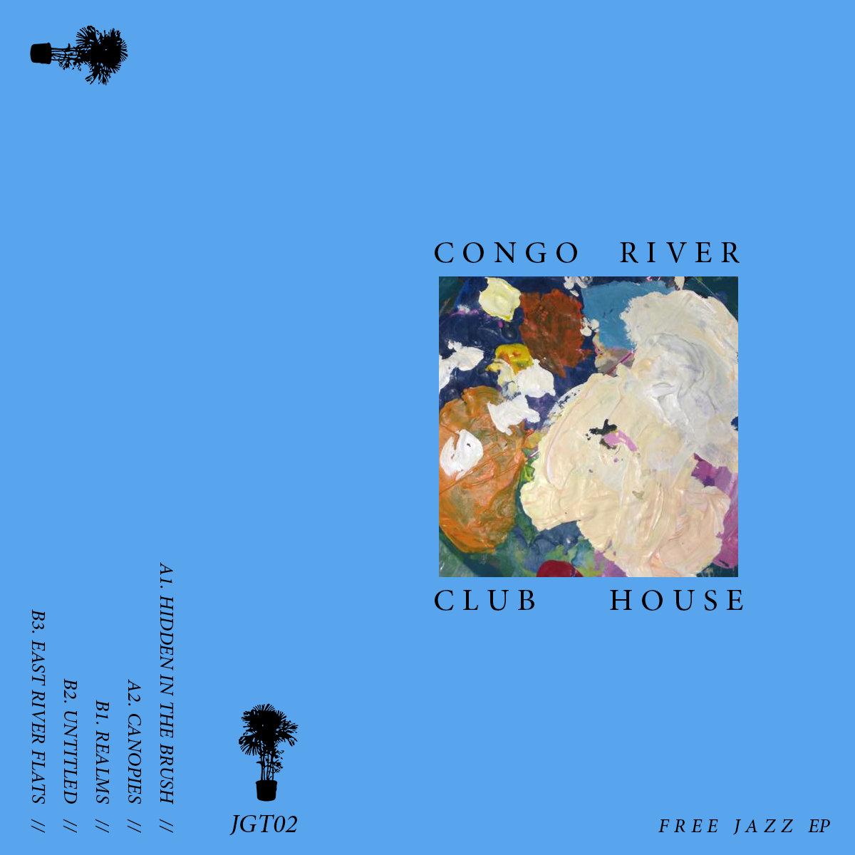 JGT Free Jazz EP JUNGLE GYM RECORDS - World map congo river