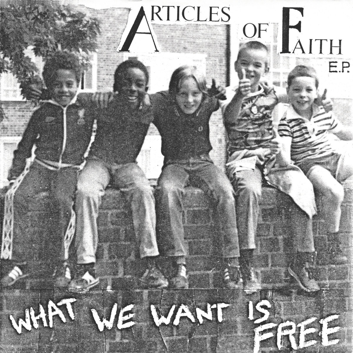 WHAT WE WANT IS FREE   Alona's Dream Records