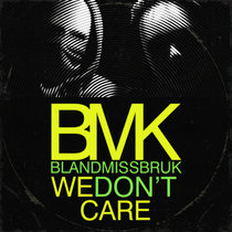 We Don't Care cover art