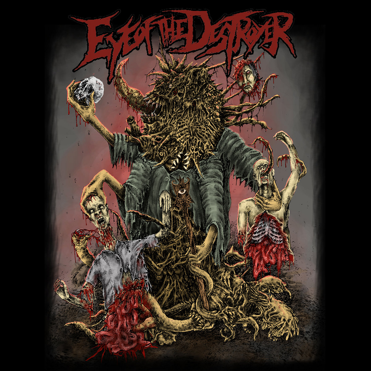 Violent By Design (Featuring Don Campan of Waking the Cadaver) by Eye Of The Destroyer