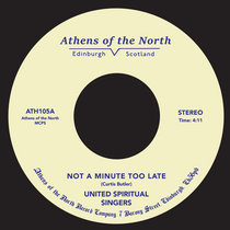 Not A Minute Too Late cover art