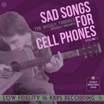 Sad Songs For Cell Phones cover art