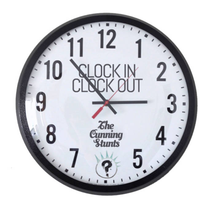clock in clock out the cunning stunts