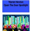 Warren Newton...Open The Door Spotlight Cover Art