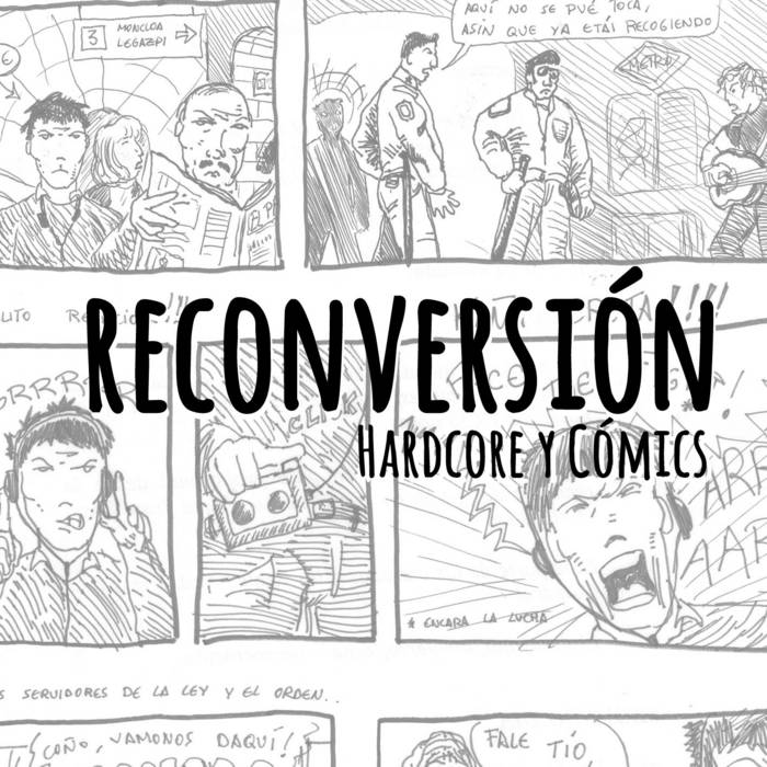 Hardcore y Cómics cover art