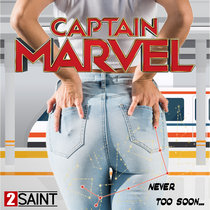 Captain Marvel (Never Too Soon) cover art