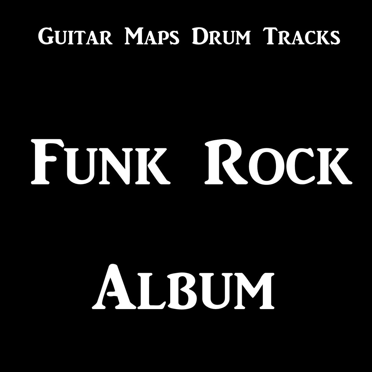 Funk Pop Rock Drum Beat 115 BPM Bass Guitar Backing Track Loop #243