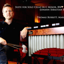Suite for Solo Cello No. 5 in C Minor, BWV 1011 J. S. Bach cover art