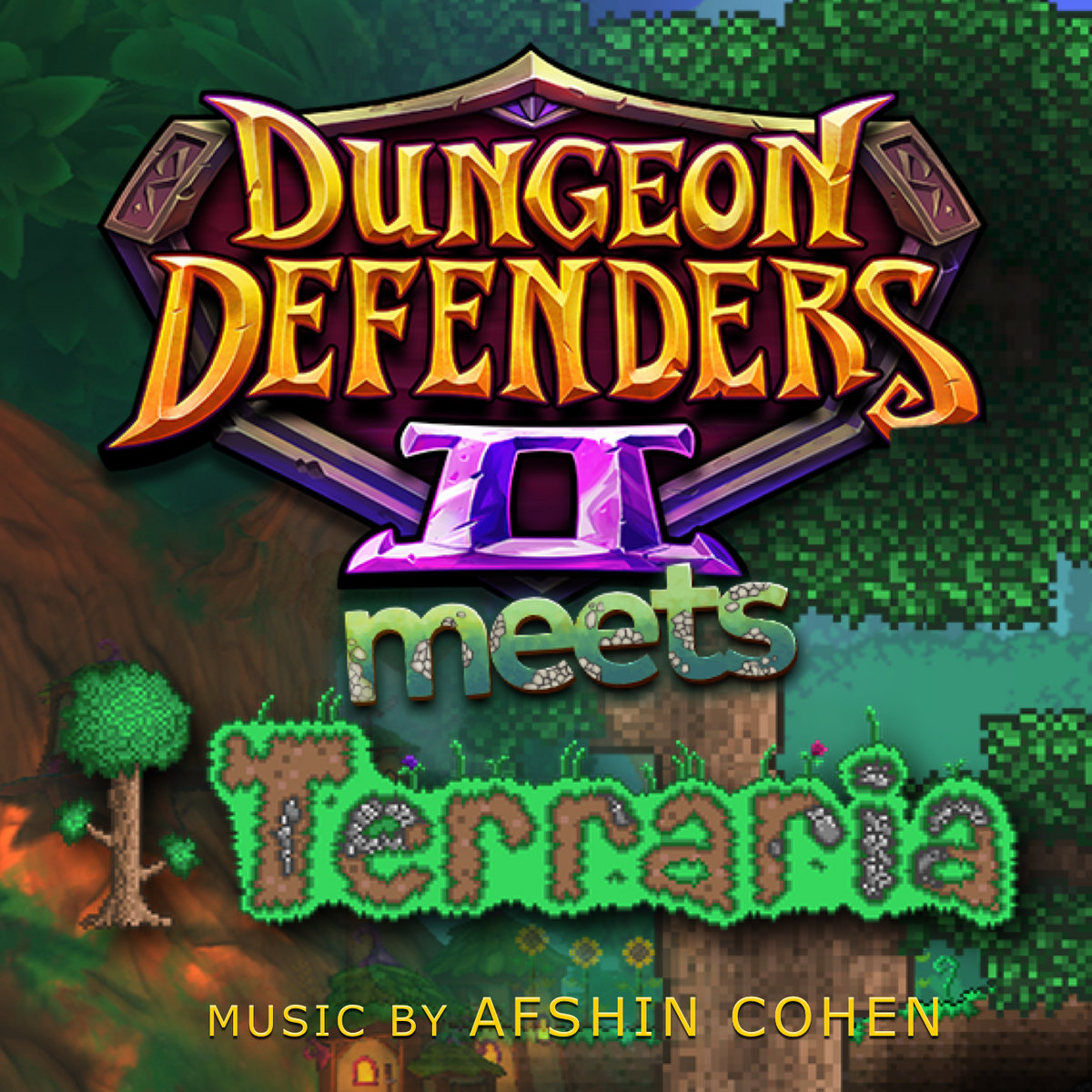 Dungeon Defenders 2 Meets Terraria: The Music | Afshin Cohen