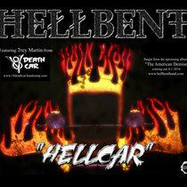 """Hellcar"" Single - Featuring Trey Martin of V8 Deathcar cover art"