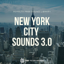 New York City Ambience Sounds Vol. 03! Subway Station, Airport & People Sounds cover art
