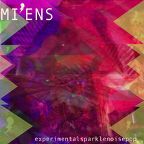 experimentalsparklenoisepop - digital or limited edition tri-coloured vinyl cover art
