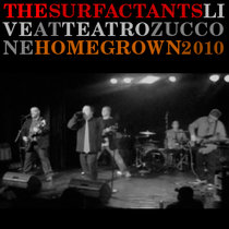 Live at Teatro Zuccone - Homegrown 2010 cover art