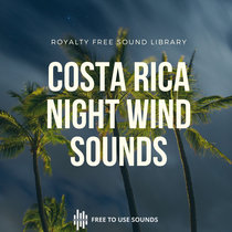 Spooky Wind Sound Effects At Night - Costa Rica cover art