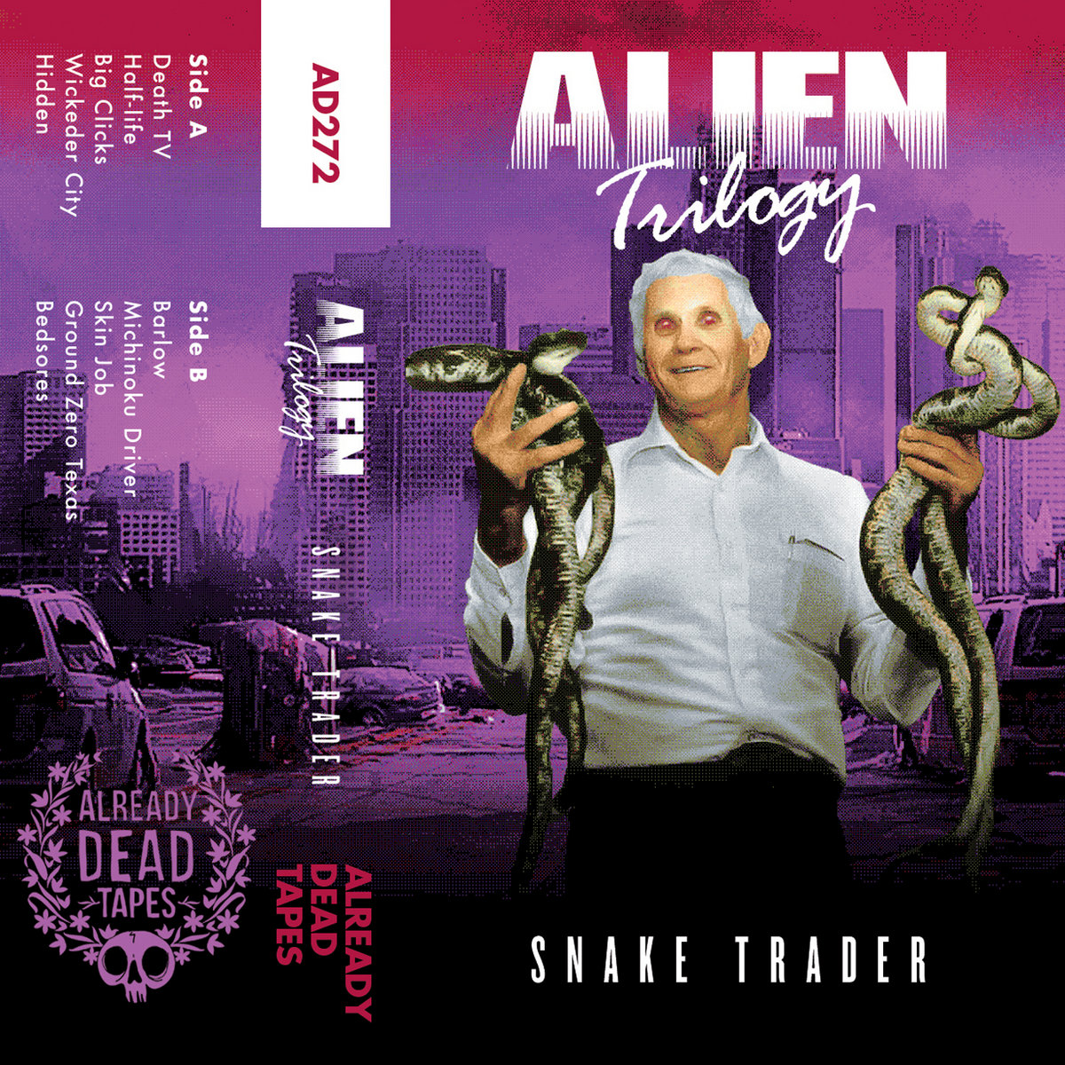 AD272 Alien Trilogy 'Snake Trader' | Already Dead Tapes and