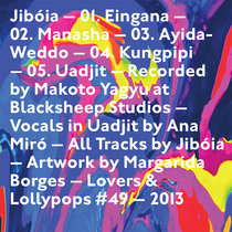 JIBÓIA EP cover art