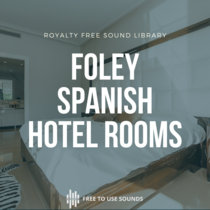 Hotel Room Sound Effects Spain cover art