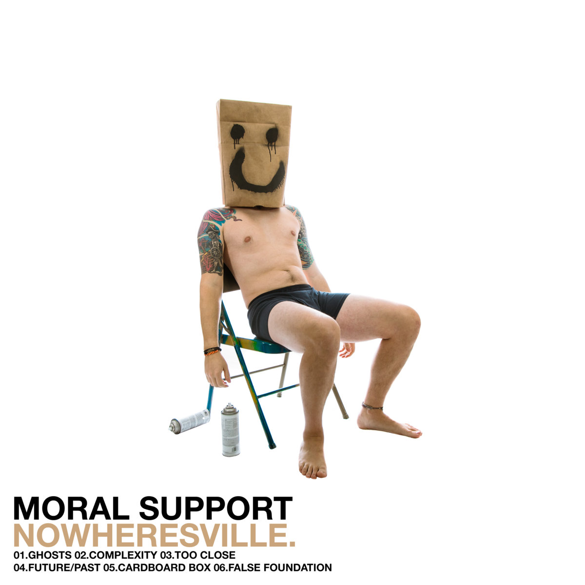 Moral Support - Nowheresville [EP] (2017)