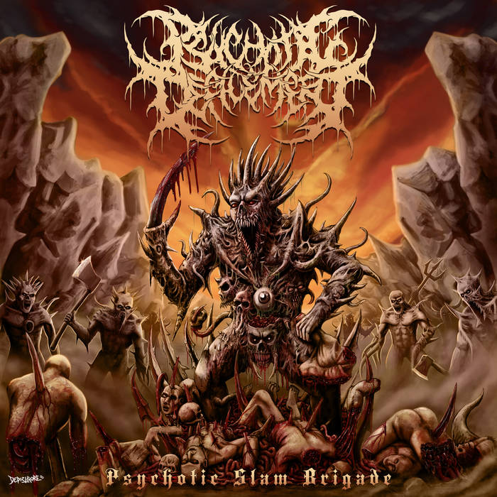 Psychotic Slam Brigade cover art