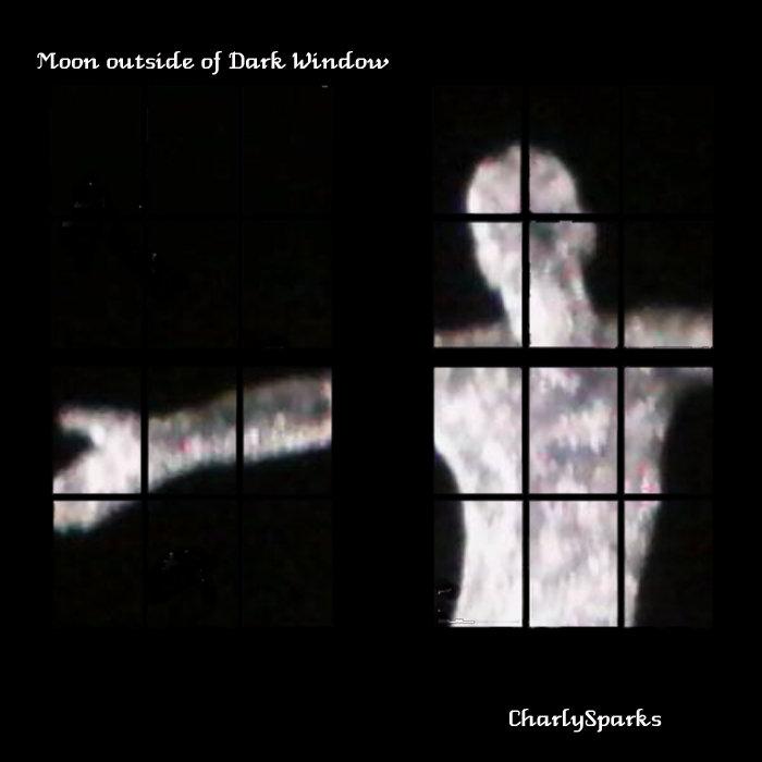 Moon outside of Dark Window | CharlySparks