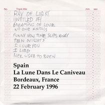 Spain La Lune Dans Le Caniveau Bordeaux France 22 February 1996 cover art