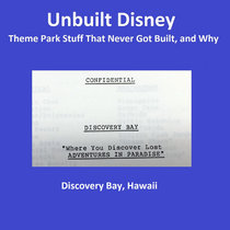Unbuilt Disney - Discovery Bay Hawaii cover art