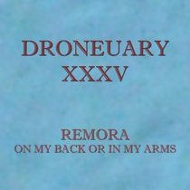 Droneuary XXXV - On My Back Or In My Arms cover art