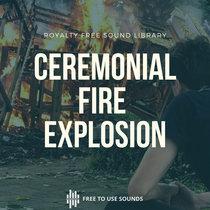 Ceremonial Cremation Soundscape Wood Fire & Explosion Bali cover art