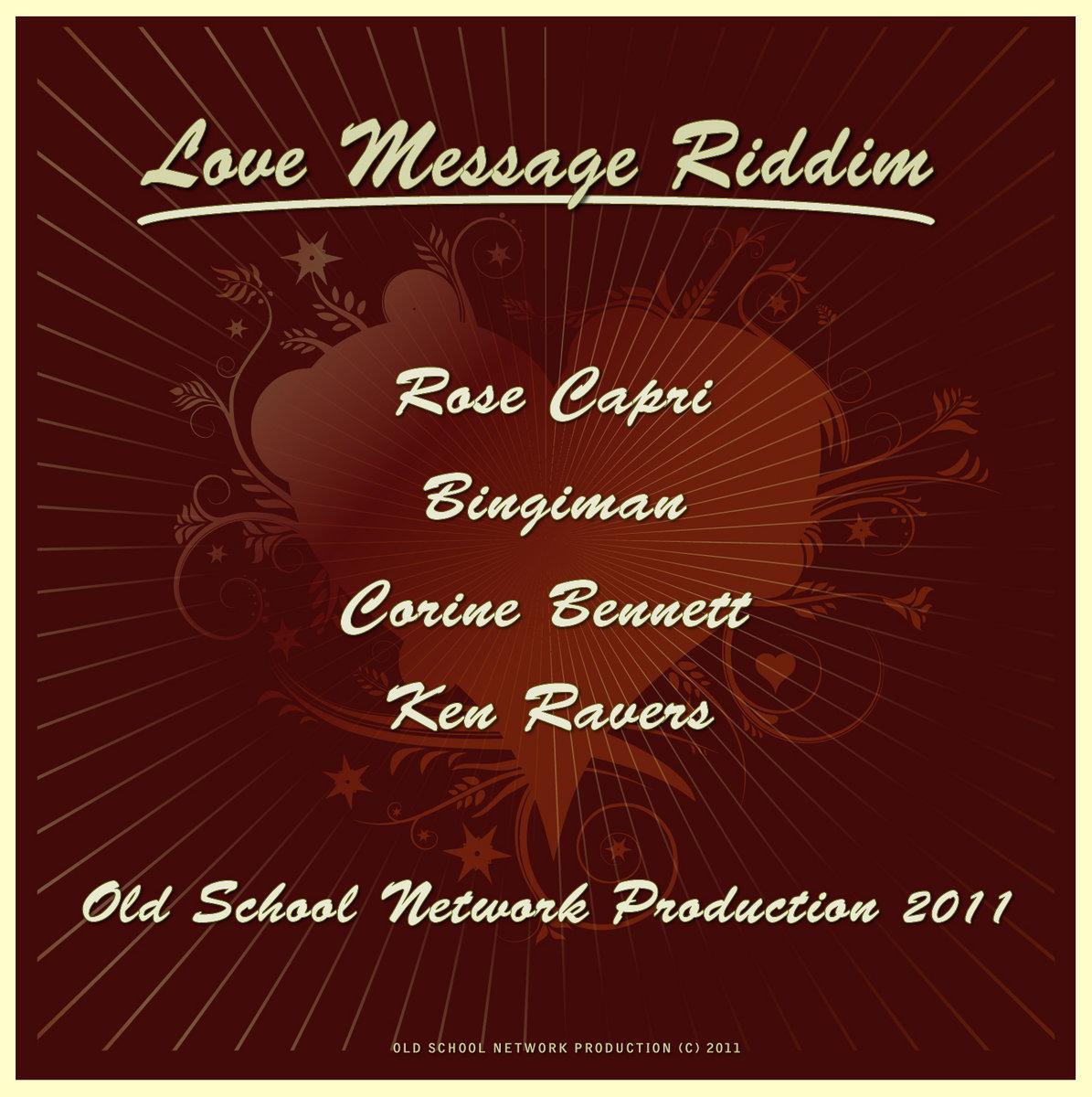 Love Message Riddim Bingiman