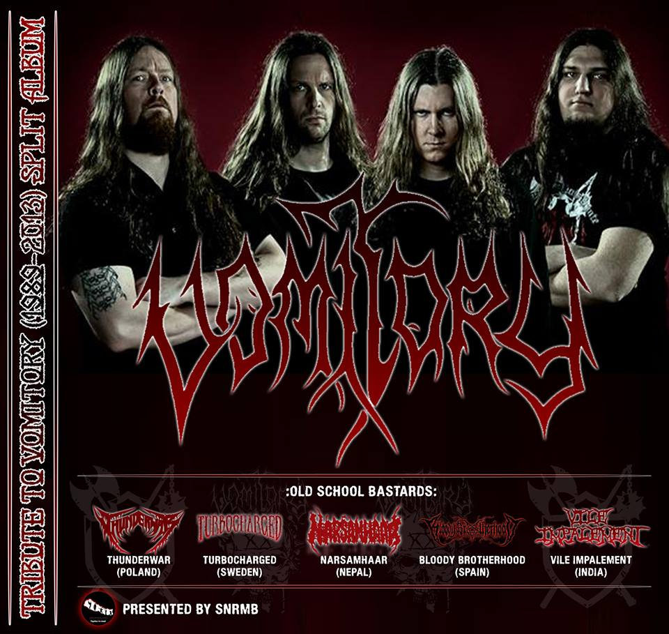 TRIBUTE TO VOMITORY (1989-2013) | Support Nepalese Rock And