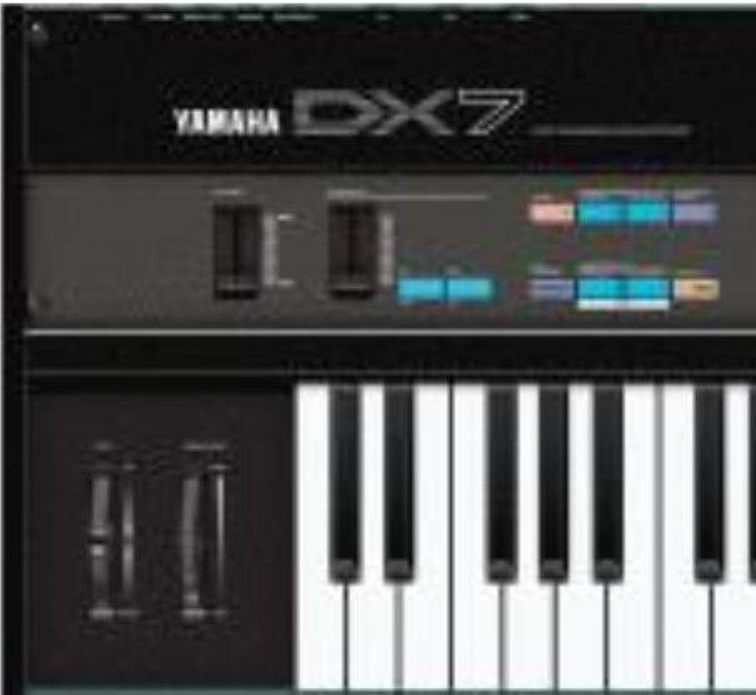 Yamaha DX7 Vol  1   RB-1 Samples