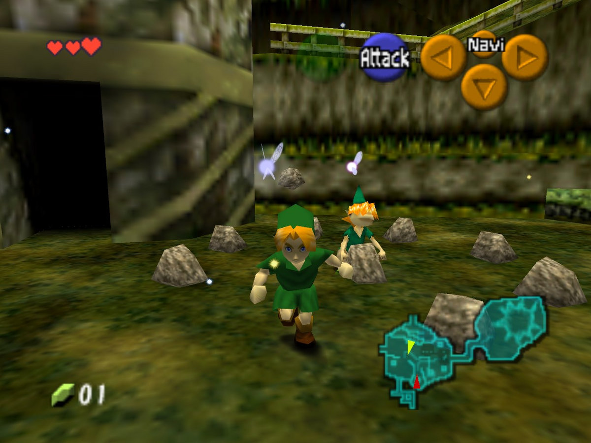 The Legend of Zelda: Ocarina of Time - Kokiri Forest