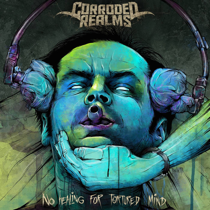 Новый альбом CORRODED REALMS - No Healing for Tortured Mind (2017)