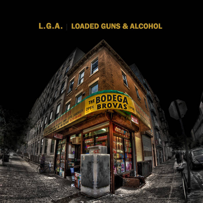 LGA (Loaded Guns and Alcohol) cover art