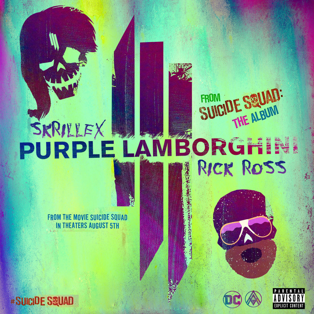 Skrillex Rick Ross Purple Lamborghini Kommotion Remix Dj