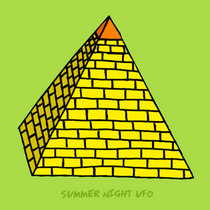 SUMMER NIGHT UFO - (post) S/T cover art