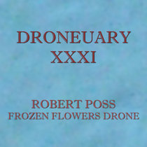 Droneuary XXXI - Frozen Flowers Drone cover art