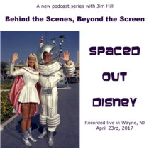 Behind the Scenes, Beyond the Screen: Spaced Out Disney cover art
