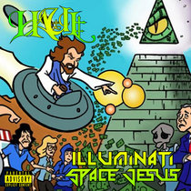 Illuminati Space Jesus cover art