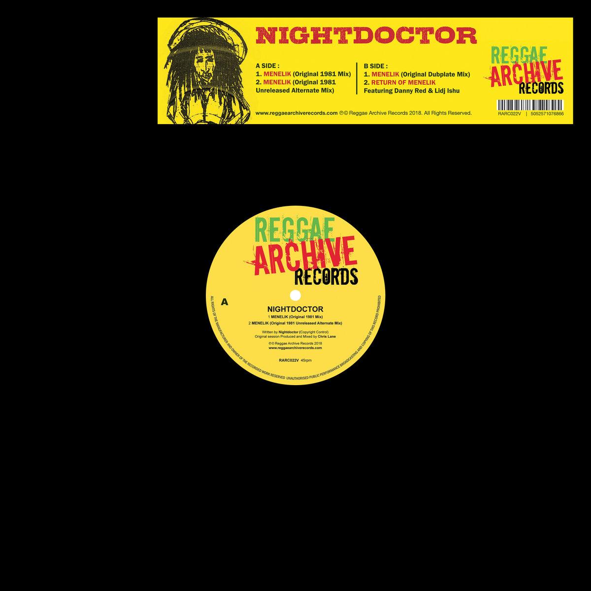Menelik | Reggae Archive Records