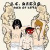 "J.C. SATÀN ""Sick Of Love"" LP Cover Art"