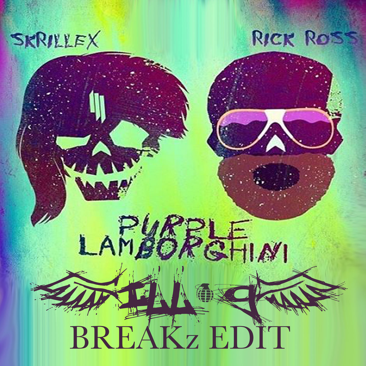 Purple Lambo Skrillex And Rick Ross Ill G Breakz Edit Ill G