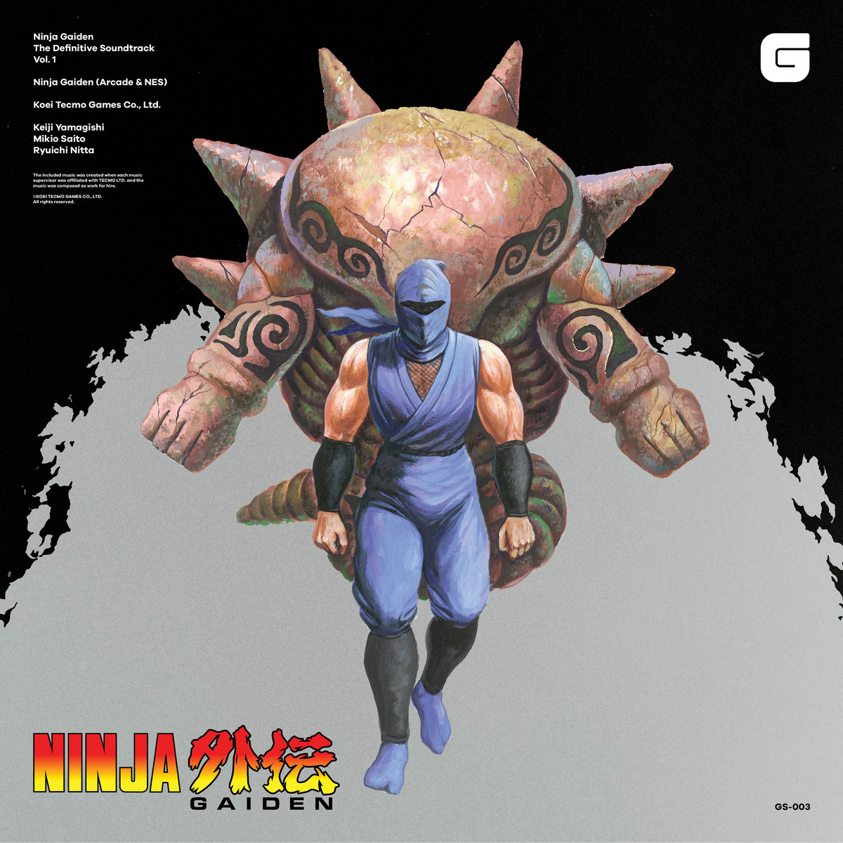 Ninja Gaiden The Definitive Soundtrack Vol 1 Koei Tecmo Games Co Ltd Brave Wave Productions