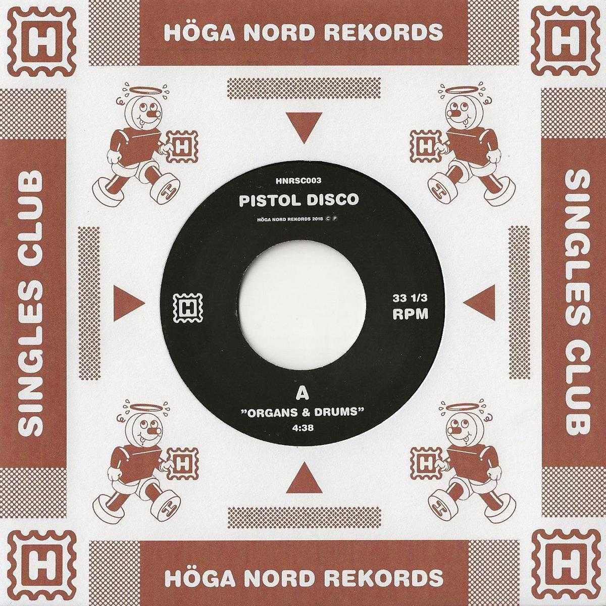 HNRSC003: Organs & Drums / Beat Of The Tune   Höga Nord Rekords
