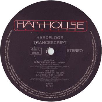 Hardfloor - The Texas Trill Mixes (By E.R.P.)