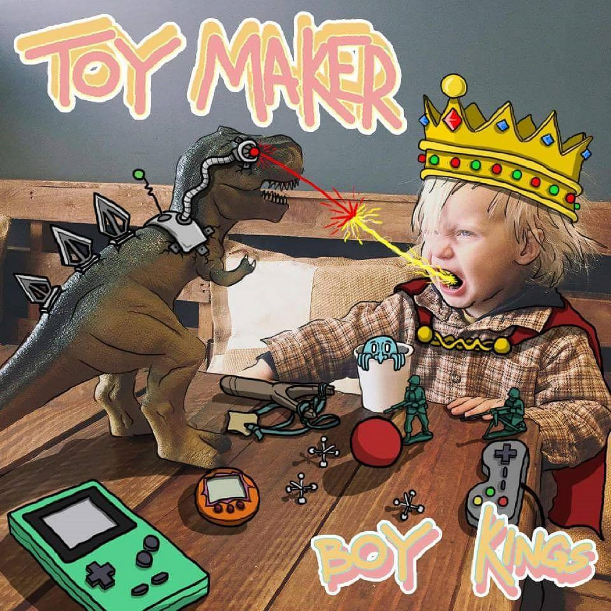 Toy Maker - Boy Kings [EP] (2016)